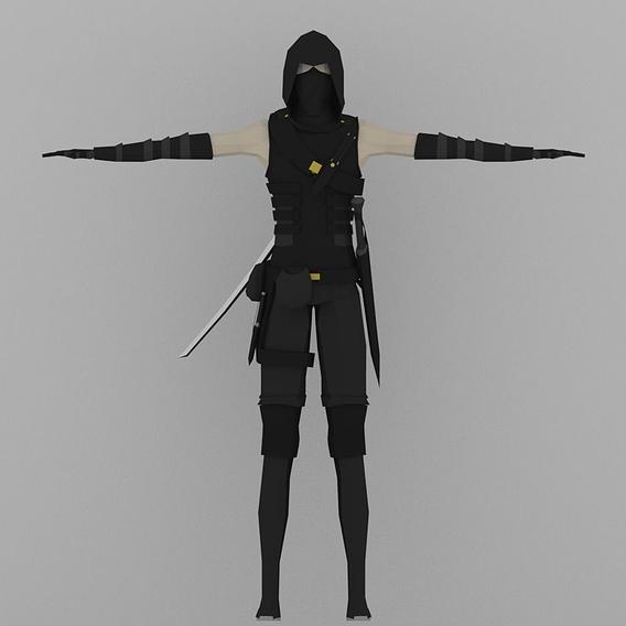 Ninja/Thief Model Showcase