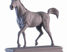 west Horse 3D print model