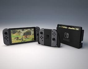 3D asset game-ready Nintendo Swtich