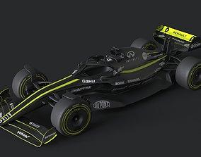 f1 renault 2021 - 2023 concept 3D model