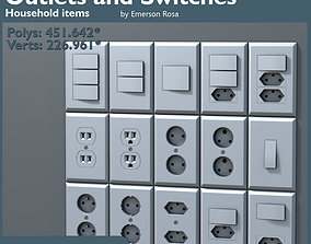 3D High-Poly - Outlets and Switches