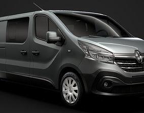 3D Renault Trafic Combi LWB 2020