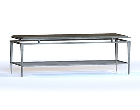 3D Lexington Ariana Athene Rectangular Coffee Table