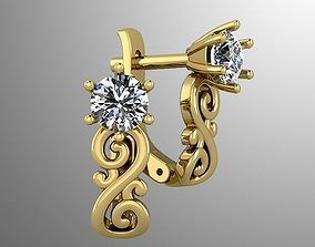 Earrings 53 3D print model