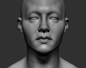 Male Head 3D model male