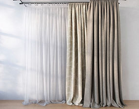 3D model Curtain curtains