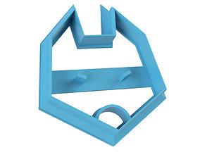 COOKIE CUTTER FOX 3D print model