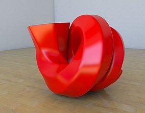 Snail Vase 3D printable model