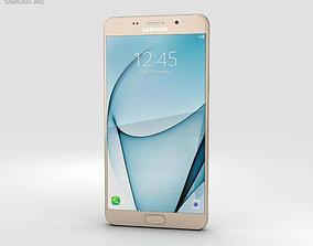 Samsung Galaxy A9 Pro 2016 Gold 3D model