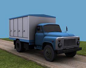 3D model GAZ 53 Bread
