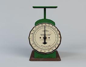 Vintage Kitchen Scale 3D asset