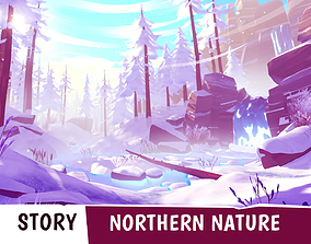 3D asset STORY - Northern Nature