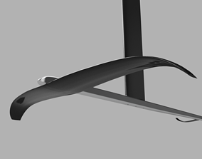 Windsurf foil 3D print model