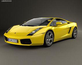 Lamborghini Gallardo 2003 3D model