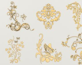 3D Ornaments Set-1