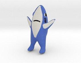 Shark Meme 3D printable model