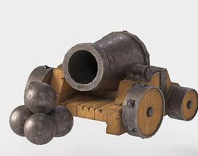 realtime 3D model Cannon