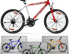 3D Mountain Bike MTB