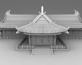 3D print model Chinese traditional house 20