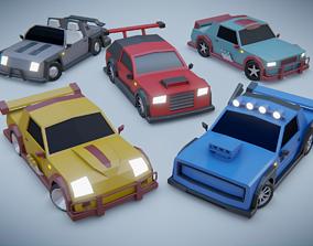 3D model customizable race car
