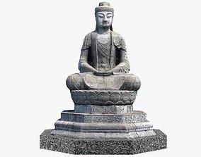 Buddha 3D asset realtime