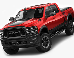 heavy RAM Power Wagon 2019 3D