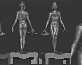 3D asset indian woman