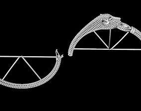 3D print model tiger bracelet