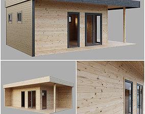 3D Modular house bathhouse