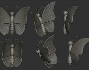 Butterfly bug 3D printable model