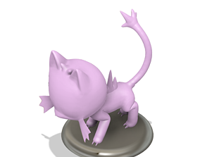 3D printable model Pokemon Litten