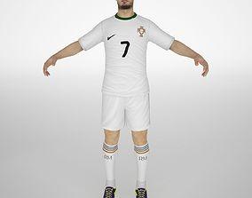 3D model Cristiano Ronaldo
