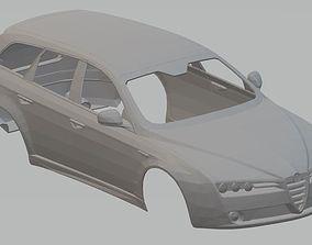 Alfa Romeo 159 SW Printable Body Car