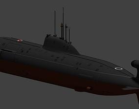 project 971 akula schuka B 3D model