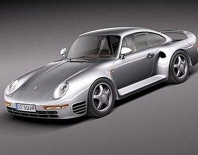 3D Porsche 959