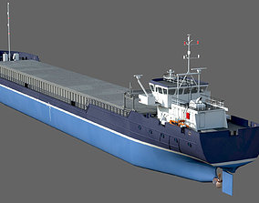 3D General Cargo Ship DAMEN COMBI COASTER 2750