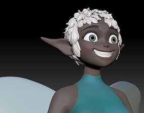 3D print model fairy sculptures