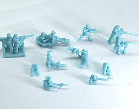Gaslands Crew - Gunners 3D printable model