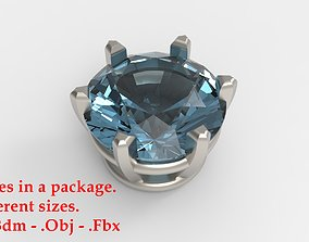 Jewelry Prong Head Set Package 246 3D print model