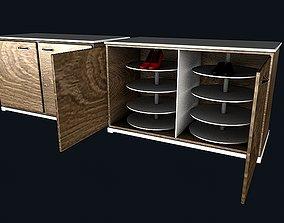 3D model Shoes cabinet 4