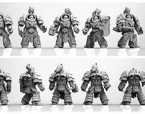 3D print model Tempest Knights Jupiter Pattern Exo Suits