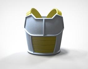 3D printable model Saiyan Armor Vegeta Dragon Ball Z