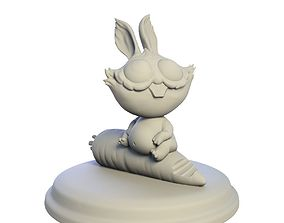 Desktop figure Rabbit rabbit 3D printable model