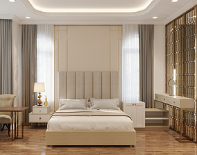 Bedroom luxury classical 3D model