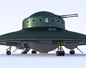 3D Nazi UFO Haunebu 2
