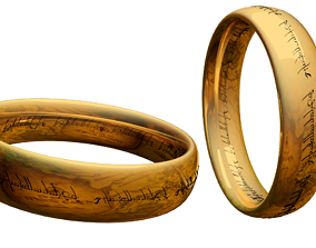 lord Of The Rings -Ring 3D printable model