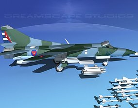3D model Mig-23 Fighter V26 Cuba