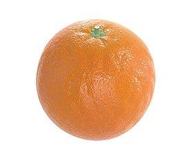 3D PBR orange