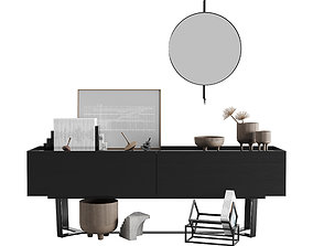3D model More Pero Sideboard With Kristina Dam Decor