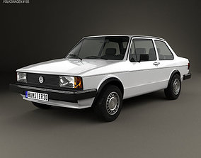 Volkswagen Jetta 2-door 1979 typ 3D model